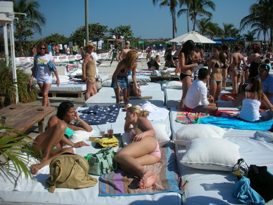 Nikki Beach South Front Outdoor Lounge